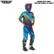 "Fly Racing Kinetic Motocross Pants & Jersey Combo Jersey Hi Viz Medium 34"" KTM"