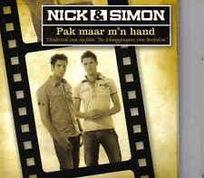Nick&Simon-Pak Maar Mn Hand cd maxi single incl cd rom clips
