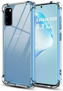 CLEAR Case For Samsung Galaxy S10 Plus S10 S20 Plus S20 Silicone Gel Shockproof