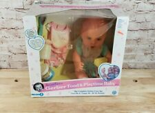 Vintage 1995 Gerber Special Edition Food and Playtime Baby Open Box Doll
