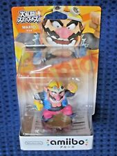 Nintendo Switch amiibo Wario not Mario Waluigi Super Smash Bros Wii U JAPAN F/S