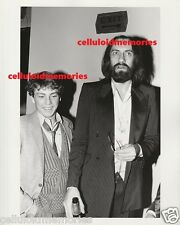 Original Photo Ryan O'Neal & Mick Fleetwood of Fleetwood Mac