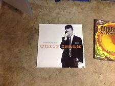 Rare Original. Chris Issak Promo Poster 24x24apx. album Cd Lp wicked game