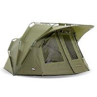 Lucx® 1 - 2 Mann Karpfenzelt  Angel Zelt Carp Dome Angelzelt Bivvy Lion Zelt