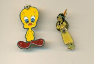 LIONS CLUB PIN(S) - TWEETY BIRD & POCAHONTAS
