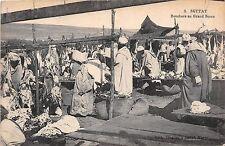 Africa postcard Morocco, Settat, Bouchers au Grand Socco ca 1916