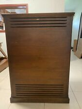 Two (2) - Leslie 710 Wood Cabinet Walnut Organ Speaker Hammond