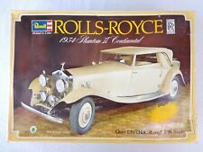 Vintage Revell Rolls Royce 1934 Phantom 1:16 Model Kit Car Sealed 1978 Very Rare