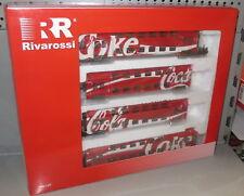 Rivarossi H0 HR 4160 4-tlg Doppelstockwagen-Nahverkehrszug DR, Coca-Cola