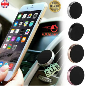 Universal Stick on Magnetic Phone Holder for Car Dashboard Sticker Metal Plate