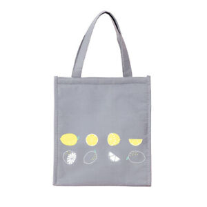 Lunch Bag Kids Adult Insulated Cool Bag Handbag Carry School Thicken Lunch Box