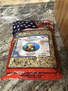 New ABBA 1300 Large Hookbill Food No Sunflower Mix 5lb