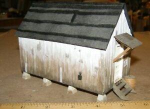 O Scale On3 On30 WEATHERED  MINING LOGGING   Plaster NO Interior Thomas Yorke NB