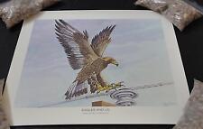 """Litho Print Public Service Co Colorado Ben Cooper 1972 Eagle 12"""" x 14"""" GD31"""