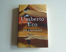 UMBERTO ECO - On Literature
