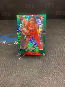 Chennedy Carter RC 2020 WNBA Prizm Green Pulsar 06/25 Rookie Atlanta Dream