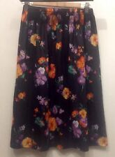 Rockabilly Polyester Vintage Skirts for Women