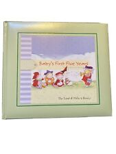 New Baby's First Five Years: A Baby Record Book - Hardcover