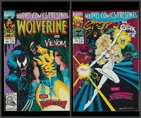 Marvel Comics Presents 122 comic, Venom, Ghost Rider, Wolverine in Near Mint.