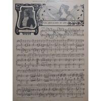 HOLMES Augusta Los caballeros de la cielo Chant Piano 1901 partitura sheet music