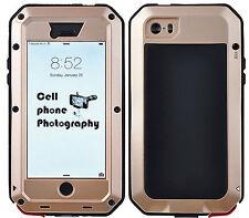 "Aluminum Waterproof Gorilla Glass Metal Case Cover For iPhone 6 / 6S Plus 5.5"""