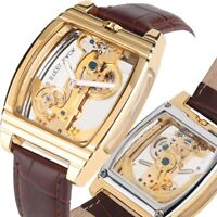 Forsining Men Steampunk Automatic Mechanical WristWatches Male Skeleton Watches