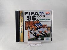 FIFA SOCCER 96 1996 SEGA SATURN IMPORT NTSC JP JAP GIAPPONESE ORIGINALE T-10606G