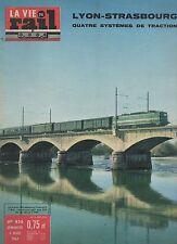 la vie du rail  N°836 du 4 mars 1962 lyon strasbourg