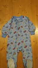 Gerber zip front footed pajamas size 18mths