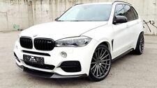 FRONT bumper addon Carbon Lip SPOILER M Sport Splitter For BMW X5 F15 Valance
