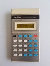 brother 811L Permanent Memory Electronic Calculator Vintage