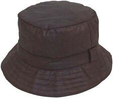 Waxed Wax Waterproof Winter Bush Bucket Hat Fishing Hunting Hiking Walking 60cm