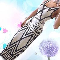 Women Summer Boho Beach Evening Party Long Maxi Dress Sundress Hot Magic
