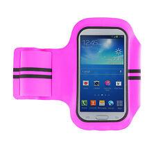 Fitness pulsera Sport banda jogging para LG g4 Sony Xperia z3+ Samsung s6 Edge Pink