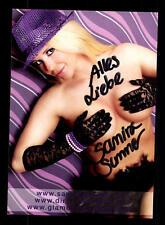 Samira Summer Autogrammkarte Original Signiert  ## BC 81521