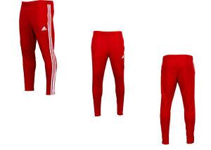 Adidas Men's Tiro 19 Training Pants Climacool / Soccer Power Red / White DZ8768