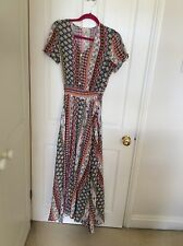 Colourful Maxi Dress, Size S/M WORN ONCE