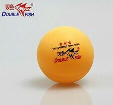 12 (4 Boxes) ball Double Fish 3*40MM Olympic Table Tennis Yellow Ping Pong New