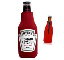Ketchup beverage insulator, Ketchup bottle, funny gag gift for ketchup lovers