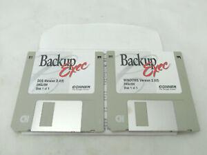 Backup Exec Conner Vintage Computer Software Version 2.0 for DOS / Windows NT