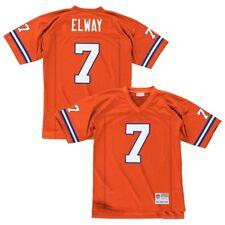 John Elway Denver Broncos Mitchell   Ness Jersey 1990 Orange Sz XL 48 7c4b563b1