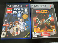 PS2 Lego Star Wars Bundle The Video Game & Star Wars 2 VGC