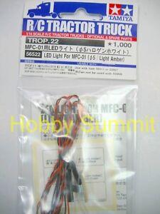 Tamiya 1/10  5mm LIGHT AMBER  LED Set re 4WD Pick-Up MFC-02  # 56522 Hilux Ford