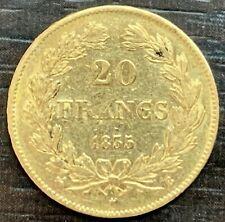 FRANCE - LOUIS PHILIPPE - 20 FRANCS OR TÊTE LAURÉE 1835 B ROUEN