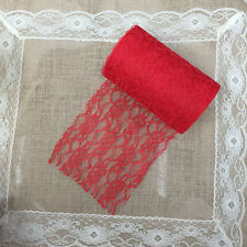 Lace Roll 15cm x22/9M Table Runner Chair Sash Wedding Bouquet Venue Decoration