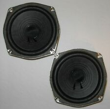 "vintage pair of 5¼"" wide-range woofers, made in Japan c.1975—excellent condition"