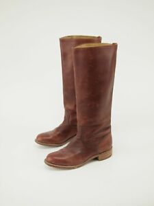 Vintage FRYE Western Riding Tall Boots 8 B