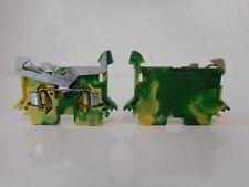 2- Leiter- Schutzleiterklemmen, grün- gelb, 280-607 -WAGO-(VE 33 Stück) - #7020