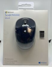 Microsoft 43U-00011 Sculpt Mobile Wireless Mouse, Wool Blue