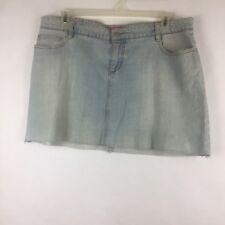 Thalia Sodi Womens Mini Skirt Size 15/16 Denim (BC)